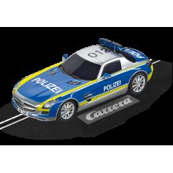 Carrera Digital 132 auto - Mercedes SLS AMG Politie | 30793