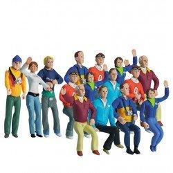 Set Figuren grote groep - Carrera Scenery - 21128