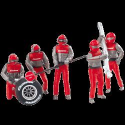 Pitcrew monteurs rood - carrera - 21131