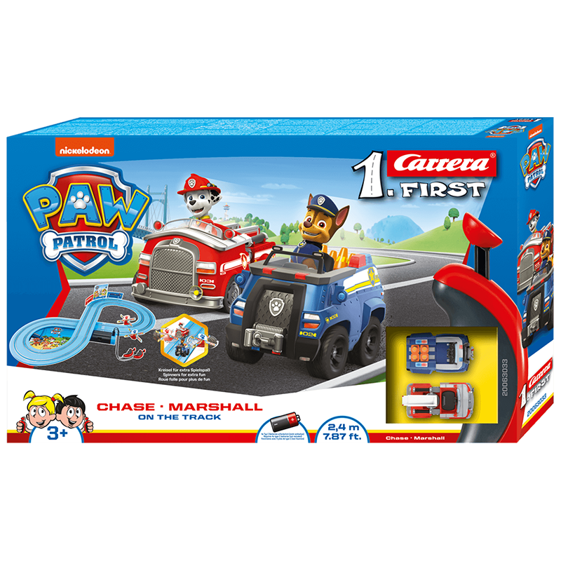 PAW Patrol Carrera First - On the Track | 63033