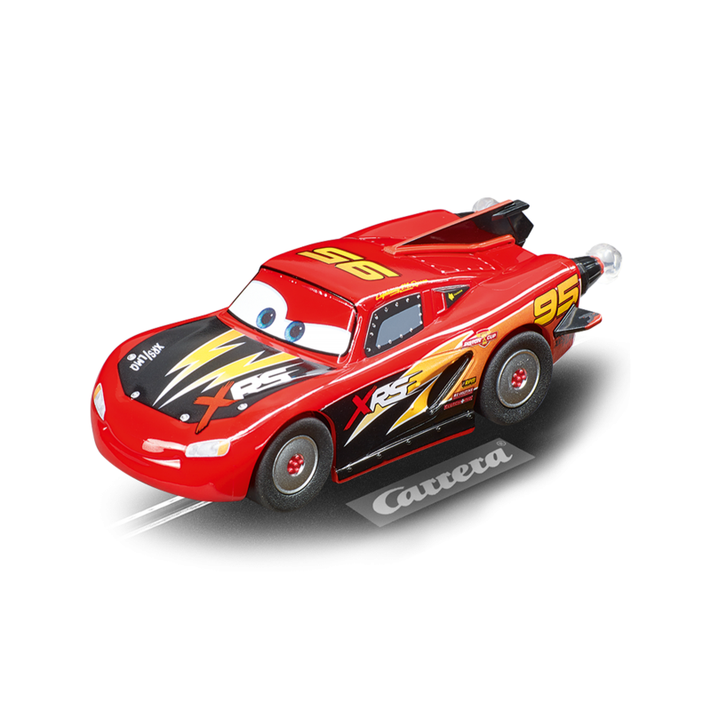 Disney·Pixar Cars - Lightning McQueen - Rocket Racer - 64163   Carrera GO auto