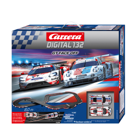 GT Face Off - 30012 | Carrera Digital 132 Racebaan