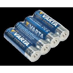 4x Type AA batterijen - Varta