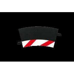 Slipstrook Binnenrand Bocht 2/30º per stuk - 20591 - Carrera