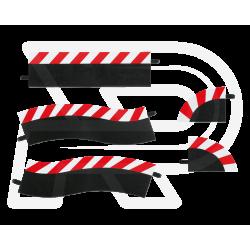 Slipstrook Buitenrand Pitstop - 20602 - Carrera