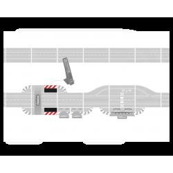 Slipstrook met plug in voor de Position Tower - 30358