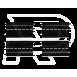 Rechte baandelen 4 stuks (34,5 cm) Carrera | 20509