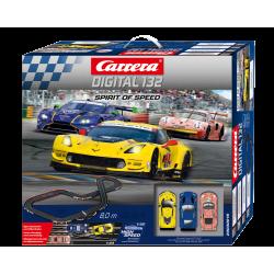 Spirit of Speed - 30016 | Carrera Digital 132 Racebaan