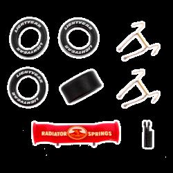 Carrera GO - Neon Bliksem McQueen onderdelen set - 88338