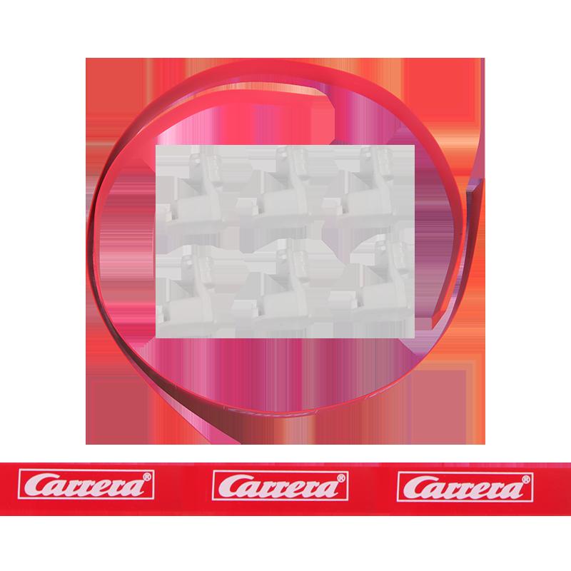 Carrera GO en Digital 143 Vangrails met brede support - 88304