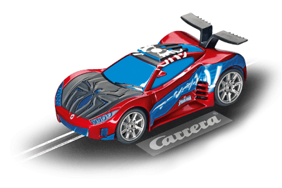 carrera go ultimate spiderman spider speed shifter