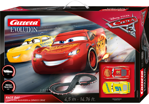 cars racebaan carrera evolution