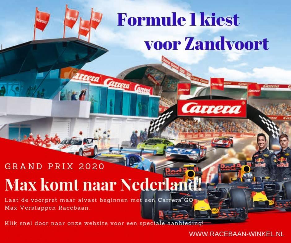 Formule 1 Kiest Voor Zandvoort Max Verstappen Racet In Nederland